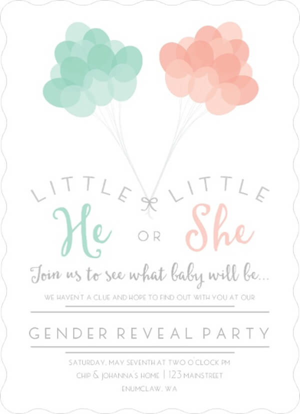 7 Classy Gender Reveal Party Themes